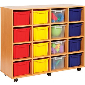 Budget Range16 Tray Deep Storage Unit £0 - Education Furniture