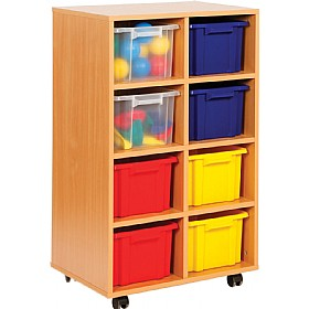 Budget Range 8 Tray Deep Storage Unit £0 - Education Furniture