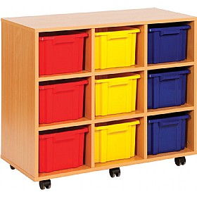 Budget Range 9 Tray Deep Storage Unit £0 - Education Furniture