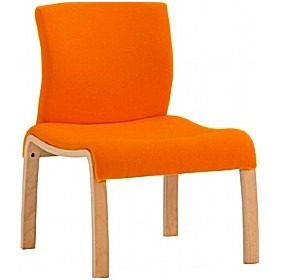 Woodframe Low Reception Chair £256 - Reception Furniture