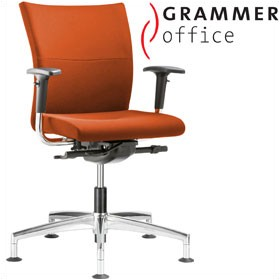 Grammer Office Extra Microfibre Medium Back Swivel Conference Chair £432 - Office Chairs
