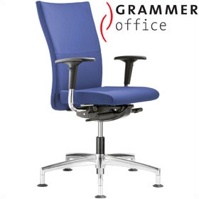 Grammer Office Extra Fabric High Back Swivel Conference Chair £423 - Office Chairs
