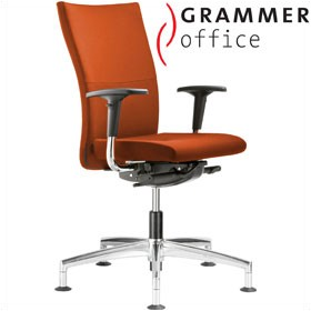 Grammer Office Extra Microfibre High Back Swivel Conference Chair £450 - Office Chairs