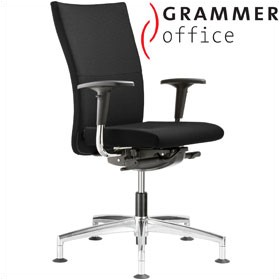 Grammer Office Extra Textile Mesh High Back Swivel Conference Chair £416 - Office Chairs
