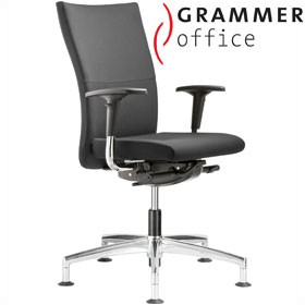 Grammer Office Extra Leather High Back Swivel Conference Chair £423 - Office Chairs