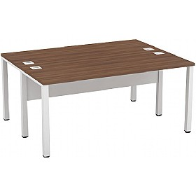 Presence Rectangular Double Bench Desks £348 - Office Desks