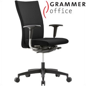 Grammer Office Extra Textile Mesh High Back Task Chair £378 - Office Chairs