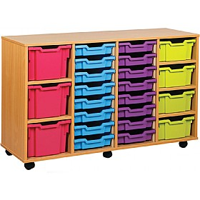 23 Variety Tray Storage Unit £0 - Education Furniture