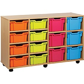 14 Variety Tray Storage Unit £0 - Education Furniture