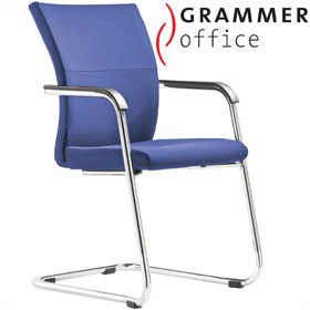 Grammer Office Extra Fabric Cantilever Side Chair £322 - Office Chairs