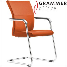 Grammer Office Extra Microfibre Cantilever Side Chair £345 - Office Chairs
