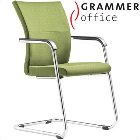 Grammer Office Extra Textile Mesh Cantilever Side Chair £356 - Office Chairs