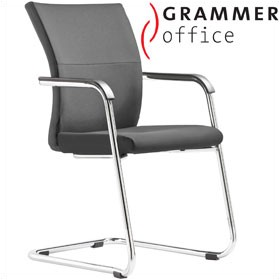 Grammer Office Extra Leather Cantilever Side Chair £322 - Office Chairs