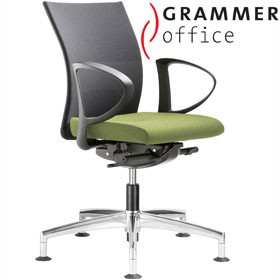 Grammer Office Extra Mesh Medium Back Swivel Conference Chair £388 - Office Chairs