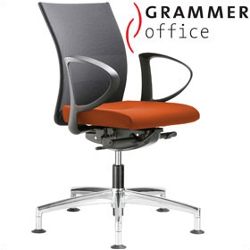 Grammer Office Extra Mesh & Microfibre Medium Back Swivel Conference Chair £401 - Office Chairs