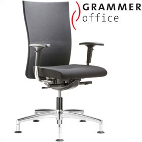 Grammer Office Extra Mesh & Fabric High Back Swivel Conference Chair £372 - Office Chairs