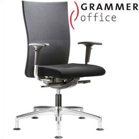 Grammer Office Extra Mesh & Leather High Back Swivel Conference Chair £372 - Office Chairs
