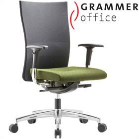 grammer office extra mesh high back task chair mesh