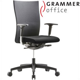Grammer Office Extra Mesh & Leather High Back Task Chair £313 - Office Chairs