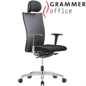 Grammer Office Extra Mesh High Back Task Chair With Neckrest £421 - Office Chairs