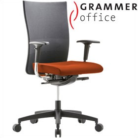 grammer office extra mesh microfibre high back task