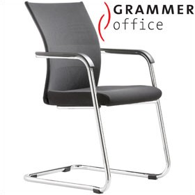 Grammer Office Extra Mesh & Fabric Cantilever Side Chair £282 - Office Chairs