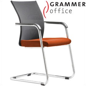Grammer Office Extra Mesh & Microfibre Cantilever Side Chair £313 - Office Chairs
