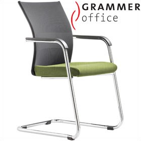 Grammer Office Extra Mesh Cantilever Side Chair £321 - Office Chairs