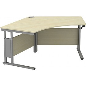 Accolade Height Adjustable Segment Cantilever Desk £705 - Office Desks