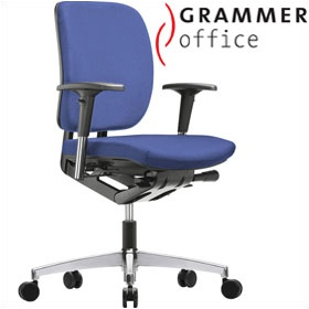 Grammer Office GLOBEline Medium Back Fabric Task Chair £274 - Office Chairs