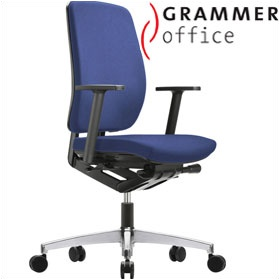 Grammer Office GLOBEline High Back Fabric Task Chair £290 - Office Chairs