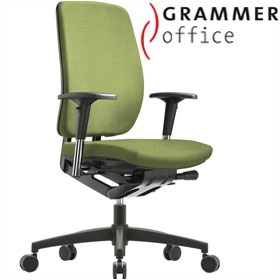 Grammer Office GLOBEline High Back Textile Mesh Task Chair £321 - Office Chairs