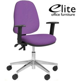 Elite Team Plus High Back Operator Chairs £136 - Office Chairs