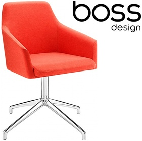 Boss Design Toto High Back Swivel Tub Chairs £433 - Reception Furniture