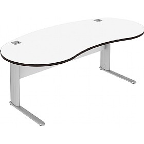 Elite Optima Plus Kidney Desks £513 - Office Desks