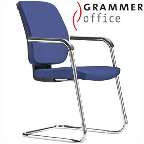 Grammer Office GLOBEline Fabric Cantilever Side Chair £238 - Office Chairs