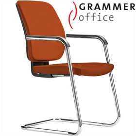 Grammer Office GLOBEline Microfibre Cantilever Side Chair £246 - Office Chairs
