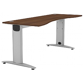 Protocol Double Wave iBeam Desks £298 - Office Desks