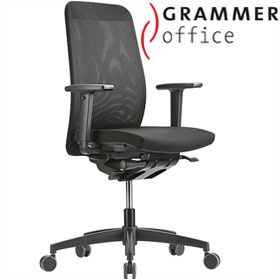 Grammer Office GLOBEline High Back Mesh & Fabric Task Chair £340 - Office Chairs