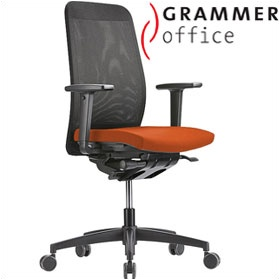 Grammer Office GLOBEline High Back Mesh & Microfibre Task Chair £336 - Office Chairs