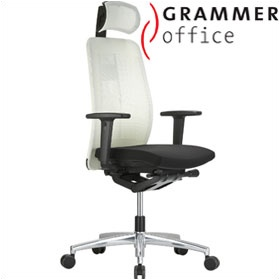 Grammer Office GLOBEline Mesh & Fabric Executive Chair £463 - Office Chairs