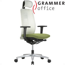 Grammer Office GLOBEline Mesh Executive Chair £460 - Office Chairs