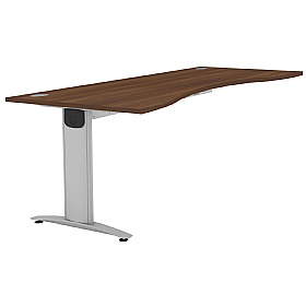 Protocol Double Wave iBeam Desk Extension £224 - Office Desks