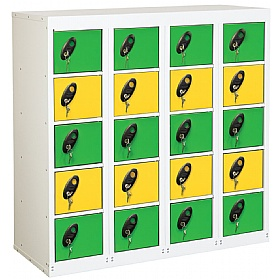 Premium Personal Effects 20 Door Lockers £0 - Education Furniture