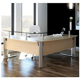Elite Optima Plus Reception Desks