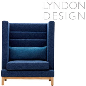 Lyndon Design Arthur High Back Single Booth £1158 - Reception Furniture