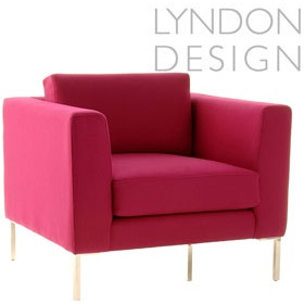 Lyndon Design Clarence Armchair £962 - Reception Furniture