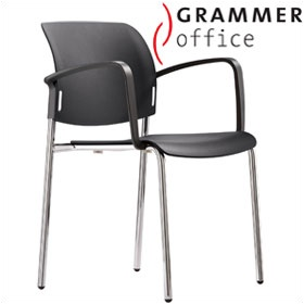 Grammer Office Passu Plastic 4-Leg Side Chair £103 - Office Chairs