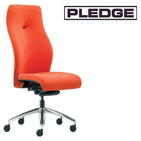 Pledge Tas High Back Custom Task Chair £247 - Office Chairs