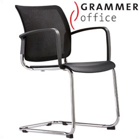 Grammer Office Passu Mesh Back Cantilever Side Chair £150 - Office Chairs